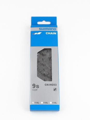 CORRENTE SHIMANO CN-HG53  9V 114 ELOS
