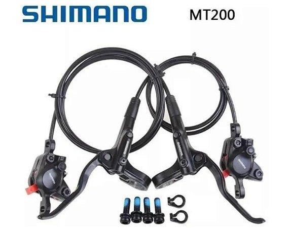 FREIO DISCO HIDRAULICO DIANT/TRAS SHIMANO ALTUS BL-MT200