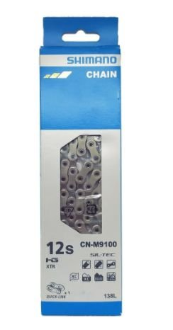 CORRENTE SHIMANO CN-M9100 12V 116 ELOSL C/QUICK LINK