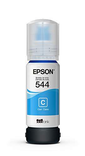 Garrafa De Tinta Original Epson Ecotank 544 Ciano - T544220