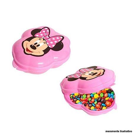 Porta Mix Infantil Tampa Fixa Minnie e Mickey Mouse
