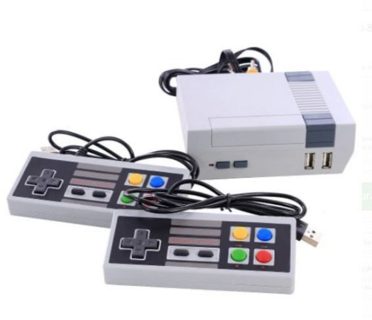 Vídeo Game Nintendo Retrô 8 bits 3000 Jogos Clássicos + 2 Controles