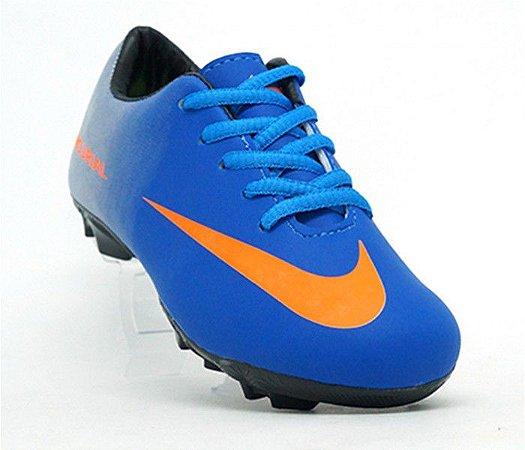 Chuteira Infantil Campo Nike Mercurial