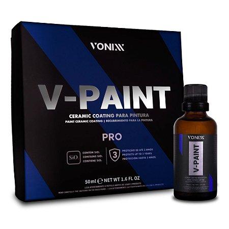 V-Paint Pro Vitrificador de Pintura 50ml - Vonixx