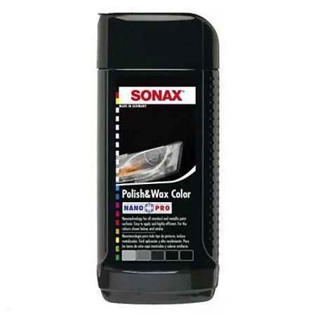 Polish Wax Nanopro Black 250ml - Sonax
