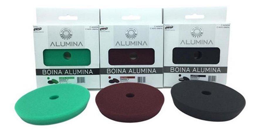 """Kit Boinas Alumina Polimento Corte-Lustro-Refino 5"""" - Easytech"""