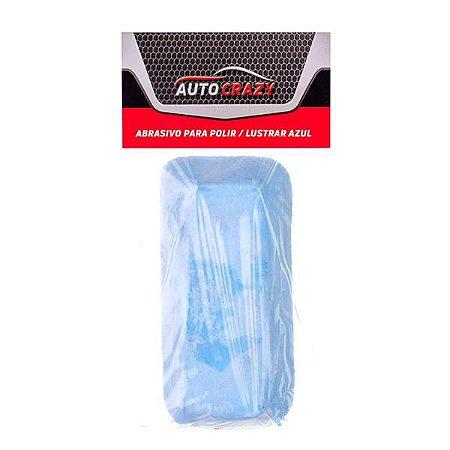 Barra Abrasiva (Pedra) P/ Polir e Lustrar Azul Pequena - Auto Crazy