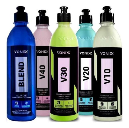 Kit Polimento - V10 V20 V30 V40 Blend All In One - Vonixx