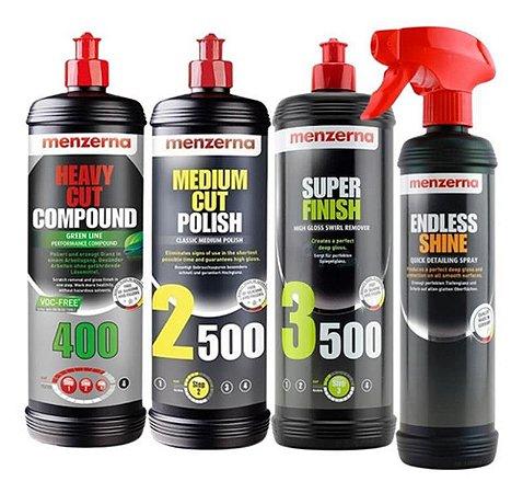Kit Polir Hcc400 Green 2500 3500 1l + Endless Shine Menzerna