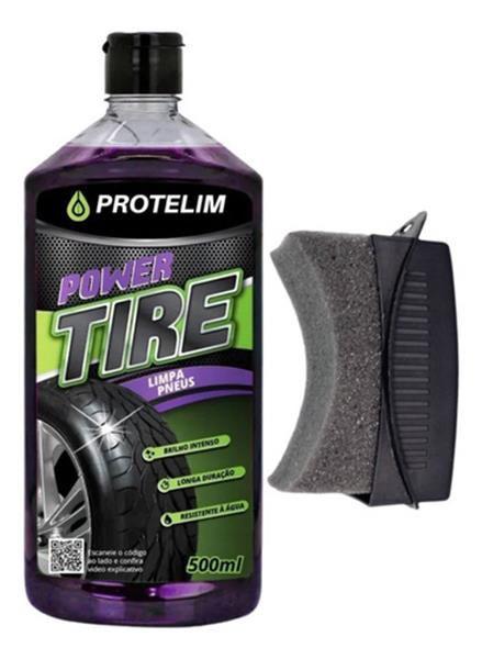 Power Tire Selante Para Pneus 500ml Protelim + Aplicador