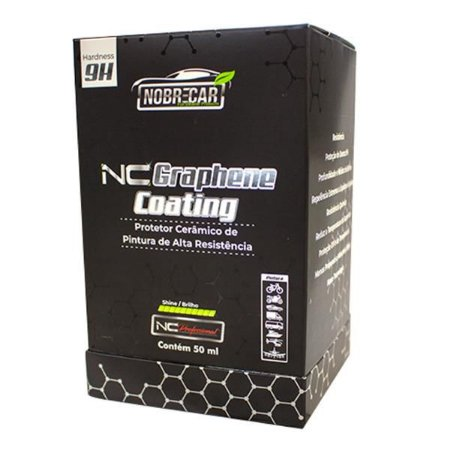 NC Graphene Coating  9H 50ml Nobrecar
