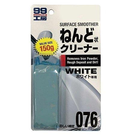 Clay Bar White (Alta Abrasividade) 150gr - Soft99
