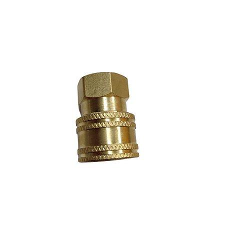 """Engate Rápido G-2SF 1/4"""" P/ Lavadora de Alta Pressão - Sigma Tools"""