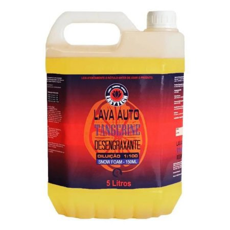 Lava Auto Tangerine - Desengraxante 5L - Easytech
