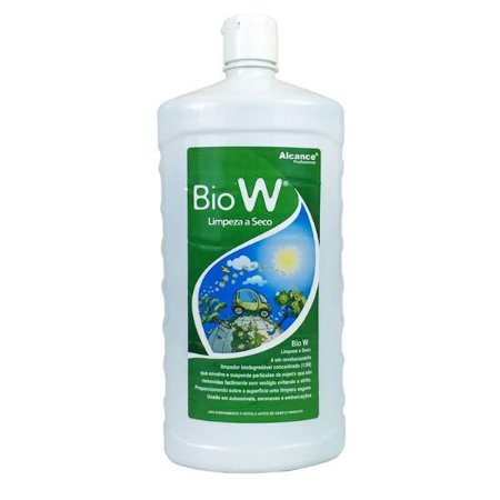 Bio W - Lavagem A Seco Concentrado Biodegradável 1L - Alcance