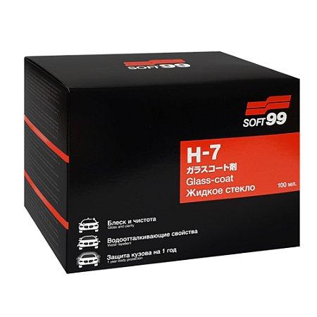 Vitrificante H7 - 3 Anos de Proteção 100ml - Soft99
