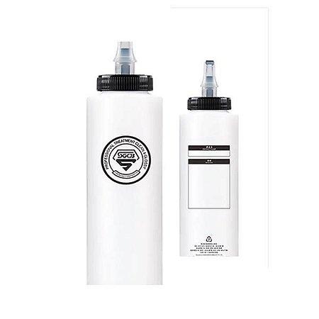 Garrafa Dosadora Push - Bico Branco 200ml - SGCB