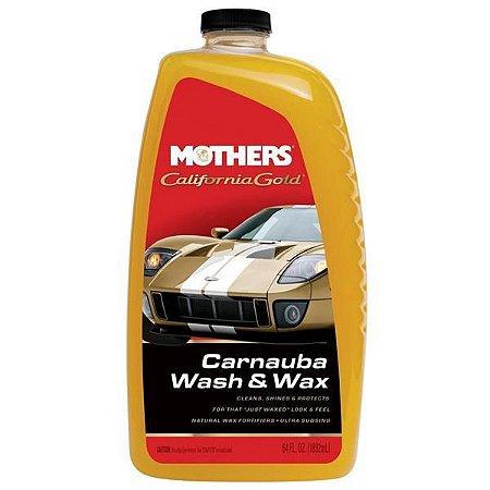 Shampoo C/ Carnaúba Wash & Wax 1,8 L - Mothers