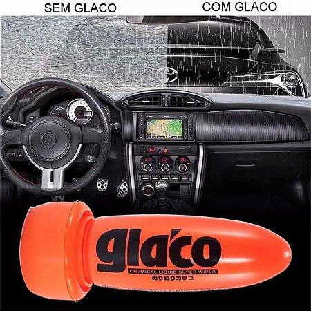 Glaco Roll On - Cristalizador de Vidros / Repelente de Chuva 75ml - Soft99