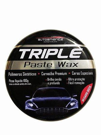 Cera Triple Past Wax - Carnaúba 100gr - Autoamerica