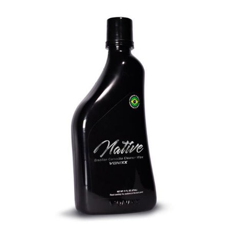 Native Brazilian Carnauba Cleaner Wax 473ml - Vonixx