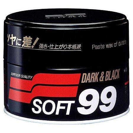 Cera de Carnaúba Dark & Black 300gr - Soft99