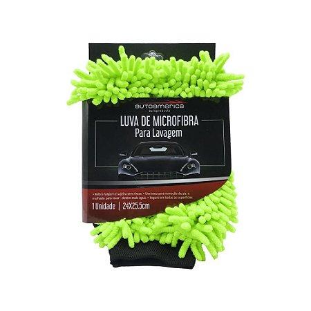 Luva Microfibra Lavagem - Autoamerica