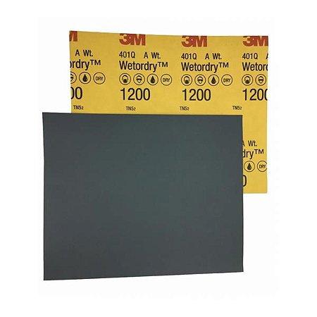 Lixa D´Água 1200 - P/ Polimento 401Q Grão - 3M