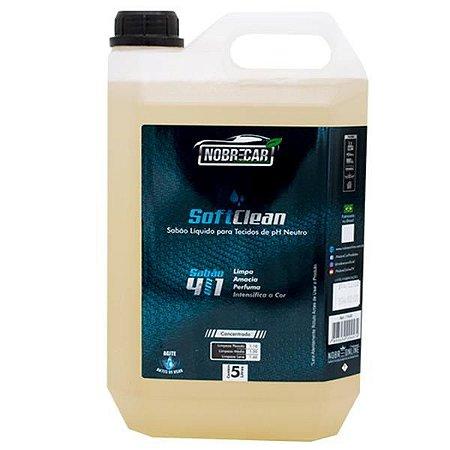 Soft Clean - Sabão Líquido 5L - Nobrecar