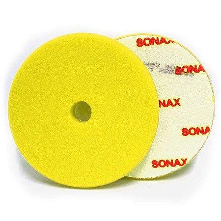 """Boina Amarela - Refino C/ Furo 6,5"""" - Sonax"""