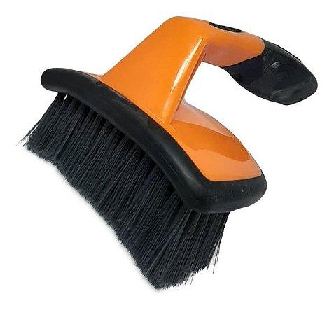 Escova Limpeza de Rodas Curva - Kers
