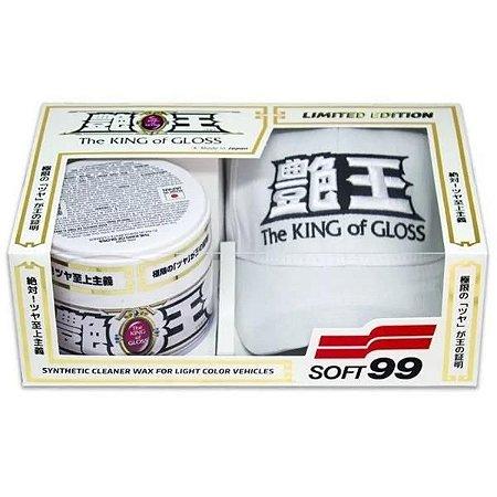 The King Of Gloss White 320gr + Brinde Boné - Soft99