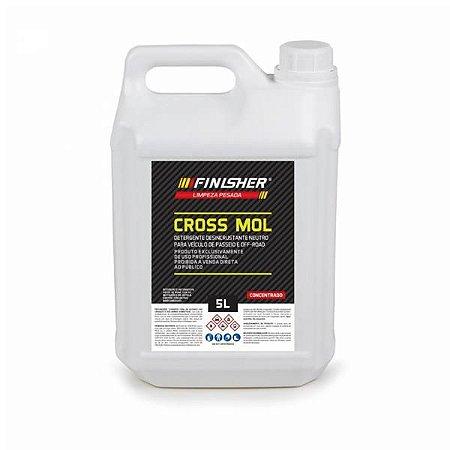 Detergente Desincrustante Neutro - Cross Mol 5L - Finisher