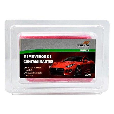 Clay Bar Vermelho (Removedor de Contaminantes) 200gr - Mills