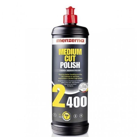 Medium Cut Polish PF2400 250ml Menzerna