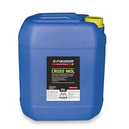 Detergente Desincrustante Neutro - Cross Mol 20L - Finisher