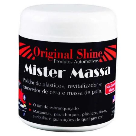 Mister Massa - Revitaliza e Remove Cera 100gr - Original Shine