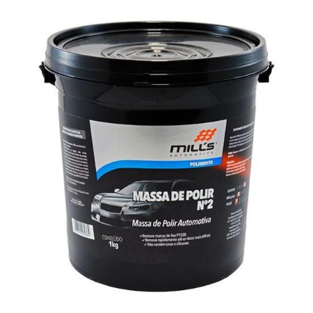 Massa de Polir N2 1Kg - Mills