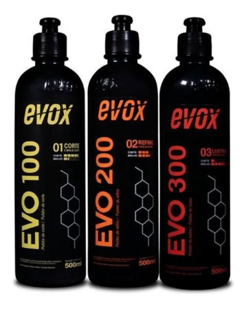 Kit Polimento Evo 100 / 200 / 300 - Evox
