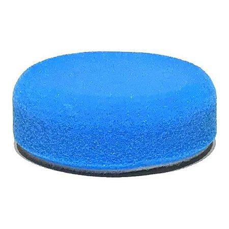"Boina de Espuma Azul Refino Médio 3"" P/ Politriz Roto Orbital - Sigma Tools"