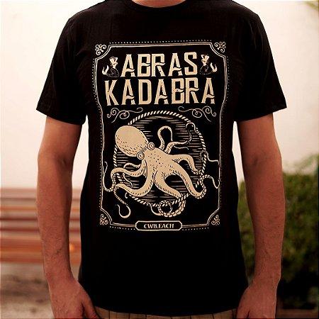 Camiseta Polvo - Abraskadabra CWBeach Preta