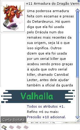 +11 Armadura do Dragão Vermelho da Fúria Folclórica