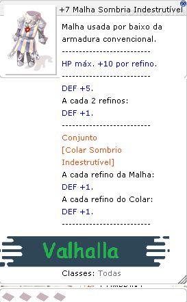 +7 Malha Sombria Indestrutível