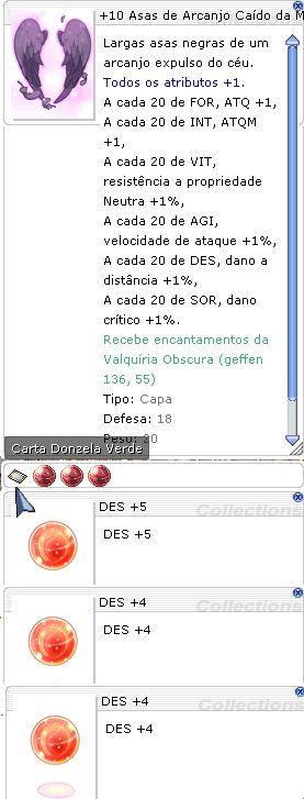 +10 Asas de Arcanjo Caído da Maldição Des +5/+4/+4