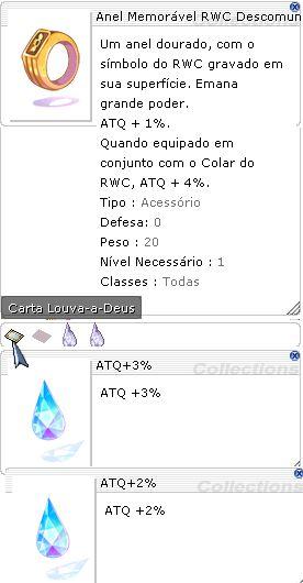 Anel Memóravel RWC Descomunal ATQ 3%/2%