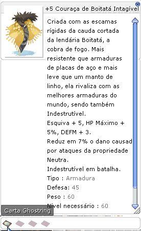+5 Couraça de Boitatá Intangível