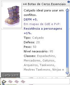 +4 Botas de Cerco Essenciais