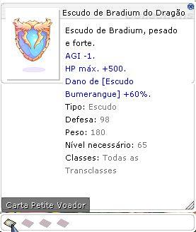 Escudo de Bradium do Dragão