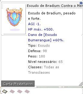 Escudo de Bradium Contra o Menor