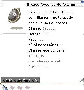 Escudo Redondo de Artemis